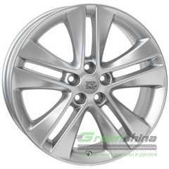 Купить WSP ITALY W2507 ASTRA HYPER SILVER R17 W7 PCD5x115 ET44 DIA70.2