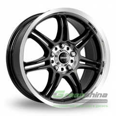 Купить MOMO RPM EVO BLACK GLOSSY POLISHED R16 W7 PCD5x114.3 ET45 DIA72.3
