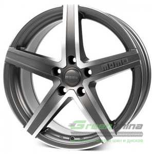 Купить Легковой диск MOMO Hyperstar Evo Anthracite Matt Polished R17 W7 PCD4x108 ET25 DIA65.1