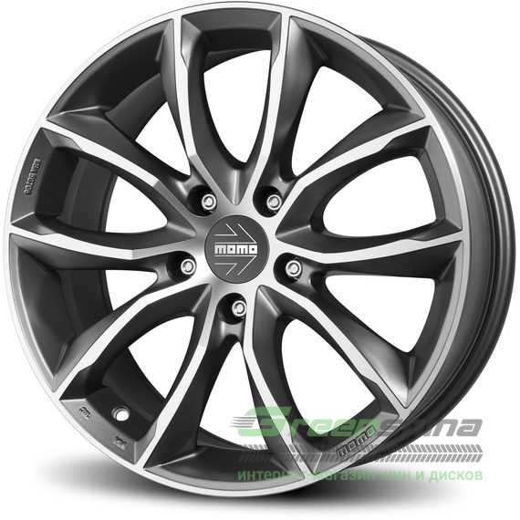 Купить MOMO Screamjet EVO ANTHRACITE M​ATT POLISHED R17 W8 PCD5x114.3 ET48 DIA72.3