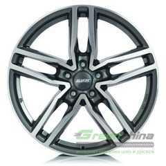 Купить Легковой диск ALUTEC Ikenu Graphite Front Polished R17 W7.5 PCD5x114.3 ET45 DIA70.1