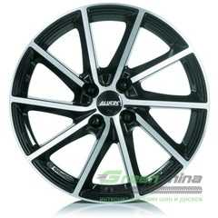 Купить Легковой диск ALUTEC Singa Diamond Black Front Polished R17 W7 PCD5x112 ET49 DIA57.1