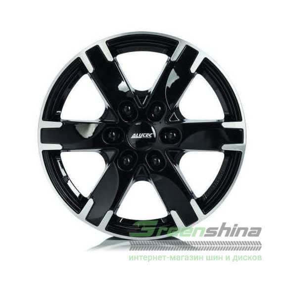 Купить Легковой диск ALUTEC Titan Diamond Black Front Polished R18 W8 PCD6x114.3 ET38 DIA66.1