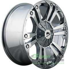 Купить BUFFALO BW-778 CHROME R20 W9 PCD10x139.7-150 ET35 DIA110.5