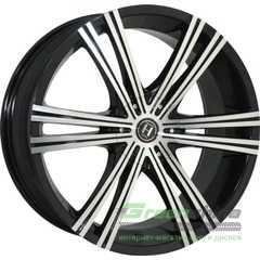 Купить HARP Y-28 Glossy-Black Machined-Face R20 W8.5 PCD5x114.3 ET40 DIA74.1