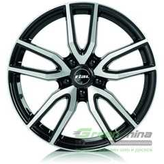 Купить Легковой диск RIAL Torino Diamond Black Front Polished R16 W6.5 PCD5x108 ET50 DIA63.4