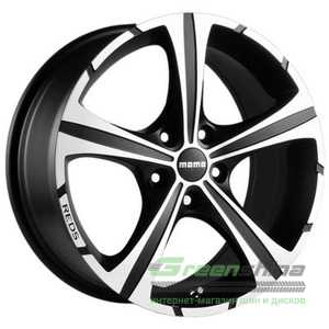 Купить MOMO Reds Black Knight Matt Ant Diamond Cut R16 W7 PCD5x108 ET45 DIA72.3