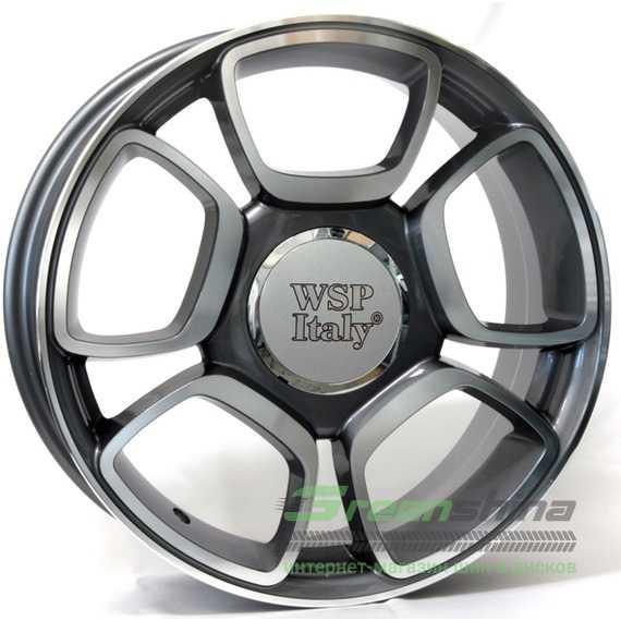 WSP ITALY W157 FORIO ANTHRACITE POLISHED - Интернет-магазин шин и дисков с доставкой по Украине GreenShina.com.ua