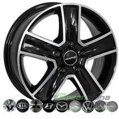 Купить Легковой диск ZW BK473 BP R16 W6.5 PCD5x160 ET60 DIA65.1