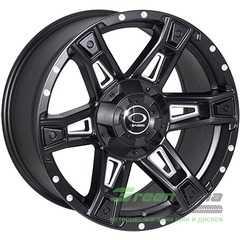 Купить JH Dark12 MattBLACK R16 W8.5 PCD6x139.7 ET00 DIA106.1