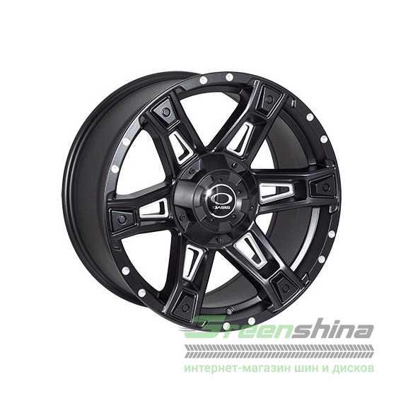 Купить JH Dark12 MattBLACK R18 W9 PCD6x139.7 ET12 DIA106.1