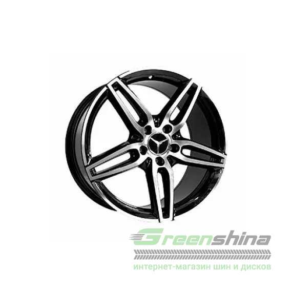 Купить Легковой диск REPLICA FORGED MR5062 BKF R18 W8 PCD5X112 ET45 DIA66.6