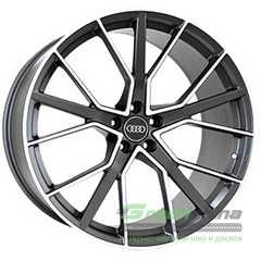 Купить REPLICA FORGED A970 MATTE-GRAPHITE-WITH-MACHINED-FACE FORGED R22 W10 PCD5x112 ET21 DIA66.5