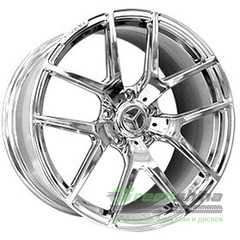 Купить REPLICA FORGED MR1008 CHROME FORGED R21 W10 PCD5x130 ET45 DIA84.1