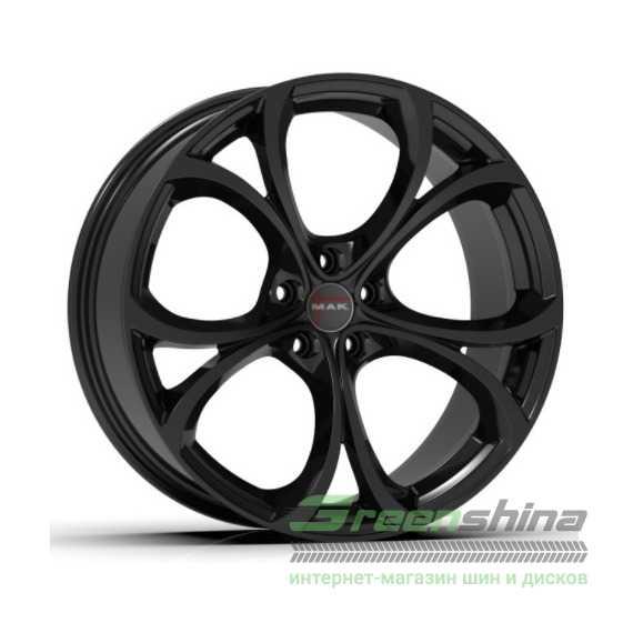 Легковой диск MAK Lario Gloss Black - Интернет-магазин шин и дисков с доставкой по Украине GreenShina.com.ua