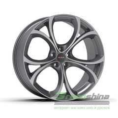 Легковой диск MAK Lario Gun Mett Mirror Face - Интернет-магазин шин и дисков с доставкой по Украине GreenShina.com.ua