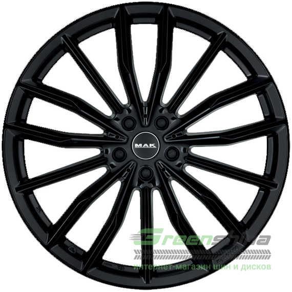 Легковой диск MAK Rapp-D Gloss Black - Интернет-магазин шин и дисков с доставкой по Украине GreenShina.com.ua