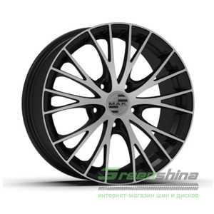 Купить MAK RENNEN Ice Black R19 W9.5 PCD5x130 ET45 DIA71.6