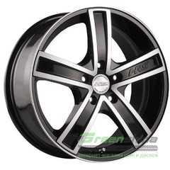 Купить RW (RACING WHEELS) H-412 BK/FP R17 W7 PCD5x114.3 ET40 DIA73.1