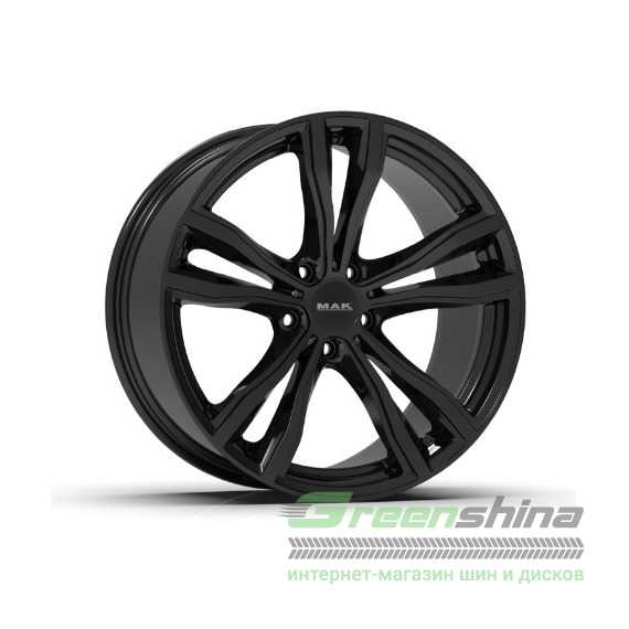 Купить Легковой диск MAK X-Mode Gloss Black R19 W9 PCD5x120 ET18 DIA74.1