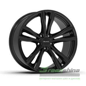 Купить Легковой диск MAK X-Mode Gloss Black R19 W9 PCD5x120 ET37 DIA74.1