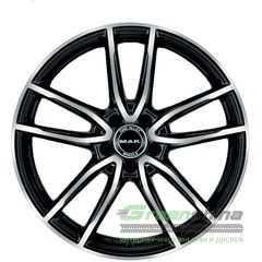 Купить Легковой диск MAK Evo Black Mirror R18 W8 PCD5x112 ET43 DIA66.6