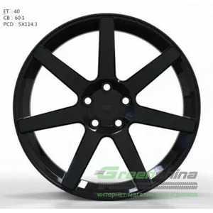 Купить Легковой диск WS FORGED WS1245 GLOSS_BLACK_FORGED R19 W8 PCD5X114.3 ET40 DIA60.1