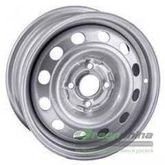 Купить Легковой диск STEEL TREBL 6085T Silver R14 W5.5 PCD4x120 ET40 DIA67.1