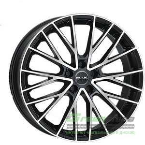 Купить Легковой диск MAK Speciale-D Black Mirror R22 W11.5 PCD5x130 ET22 DIA71.6