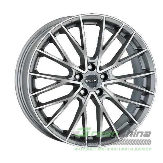Купить Легковой диск MAK Speciale-D Graphite Mirror Face R21 W10 PCD5x112 ET19 DIA66.45