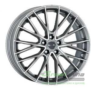 Купить Легковой диск MAK Speciale-D Graphite Mirror Face R21 W10 PCD5x120 ET34 DIA72.6