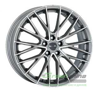Купить Легковой диск MAK Speciale-D Graphite Mirror Face R21 W10 PCD5x120 ET42 DIA72.6