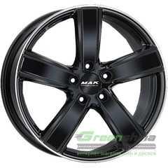 Купить Легковой диск MAK Turismo-FF Gloss Black Mirror Ring R21 W9.5 PCD5x130 ET71 DIA71.6