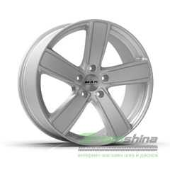 Легковой диск MAK Turismo-FF Silver - Интернет-магазин шин и дисков с доставкой по Украине GreenShina.com.ua