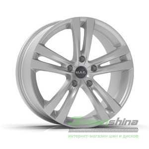 Купить Легковой диск MAK Zenith Hyper Silver R17 W8 PCD5x110 ET35 DIA65.1