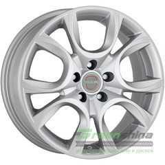 Легковой диск MAK Torino W Silver - Интернет-магазин шин и дисков с доставкой по Украине GreenShina.com.ua