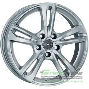 Купить Легковой диск MAK Emblema Silver R15 W6 PCD5x112 ET47 DIA57.1