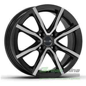 Купить Легковой диск MAK Milano 4 Black Mirror R17 W7 PCD4x108 ET25 DIA65.1