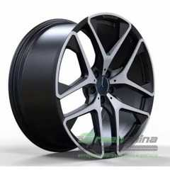 Купить Легковой диск REPLICA FORGED MR942 MATT_BLACK_WITH_MACHINED_FACE_FORGED R21 W10 PCD5X112 ET54 DIA66.6