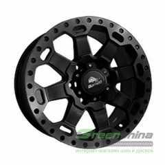 Купить Легковой диск BUFFALO BW-200 Matte Black-W Machined Dark Tint Lip R17 W8 PCD6x139.7 ET55 DIA106.3