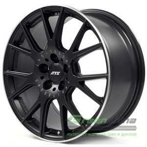 Купить Легковой диск ATS Crosslight racing-black lip polished R19 W9 PCD5x112 ET30 DIA75.1