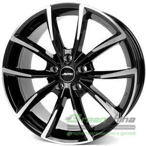 Купить Легковой диск AUTEC Astana Schwarz poliert R18 W8 PCD5x112 ET25 DIA66.5